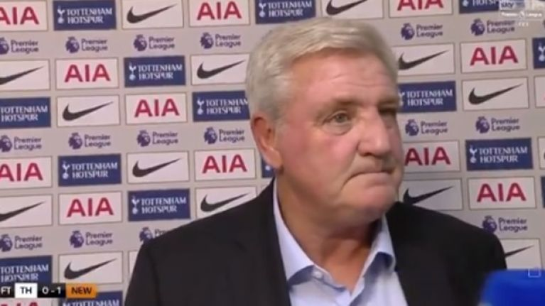 Steve Bruce hits back at 'embarrassing' criticism following Spurs win