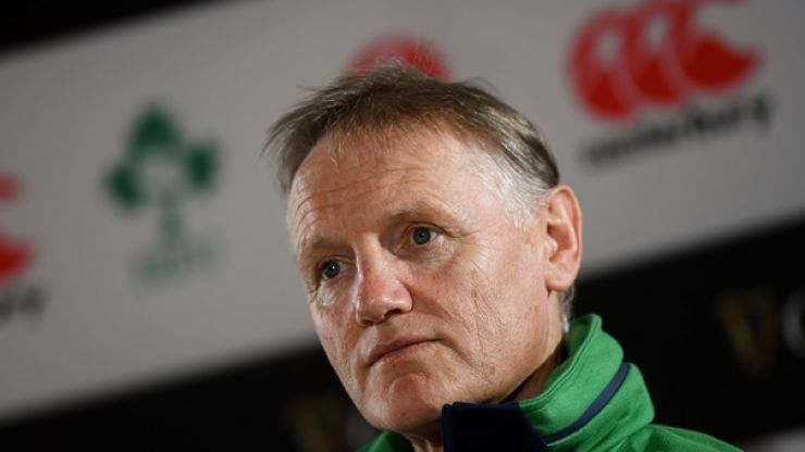Joe Schmidt: Once this weekend is over selections are effectively done