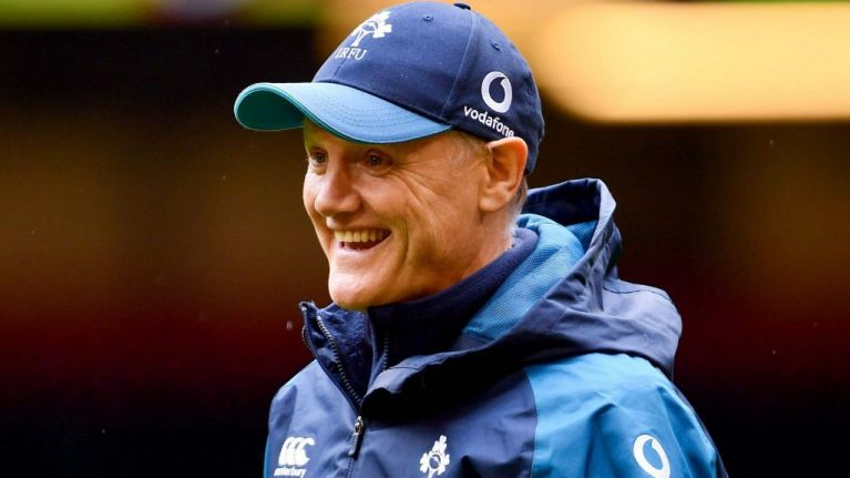 """""""I definitely don't think Joe Schmidt would say, 'No counter-attacking today, lads!'"""""""