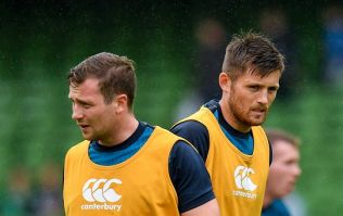 How does Ross Byrne compare to Jack Carty in race for final fly-half spot