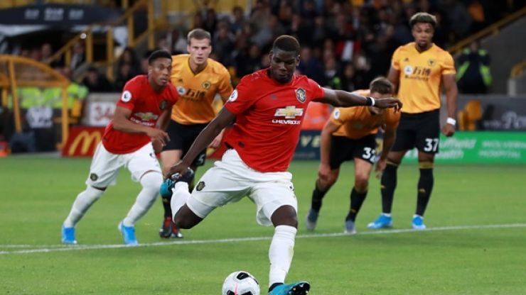 Marcus Rashford and Paul Pogba penalty statistics