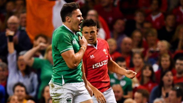 Ireland set for world rankings boost on Monday after redemption in Cardiff