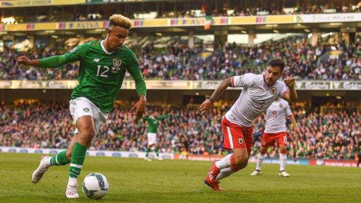 In-form Robinson ready to lead the line for Ireland