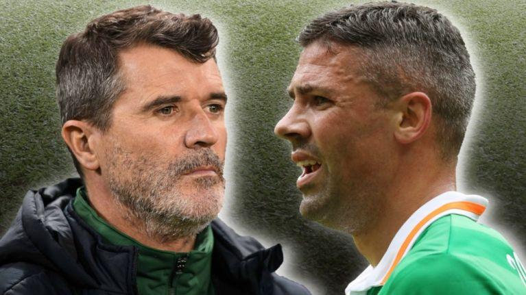 Jon Walters v Roy Keane
