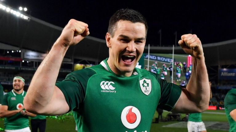 Sexton back at 10 as Schmidt names Ireland side for Wales warm-up
