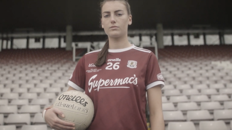 WATCH: Galway LGFA player Áine McDonagh on playing county