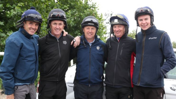 Legendary jockeys coming out of retirement for Smullen's good