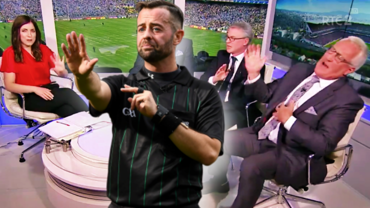 """""""The referee must have been clearly influenced by the propaganda coming from Kerry"""" - Joe Brolly"""