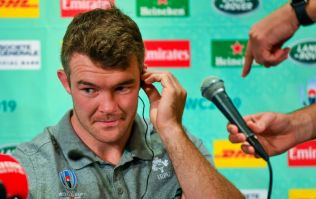 Joe Schmidt insists there is 'no elevated risk' in Peter O'Mahony facing Japan