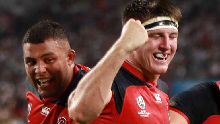 WATCH: England thrash hapless USA 45-7 in RWC 2019