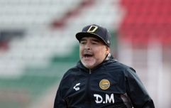Diego Maradona sent to hospital with stomach bleeding