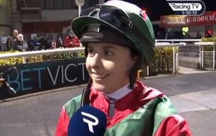 19-year-old Emma Doyle records stunning victory after her first-ever ride