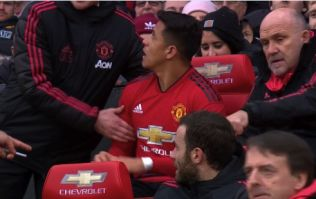 Ole Gunnar Solskjaer was not having Alexis Sanchez sitting in his seat