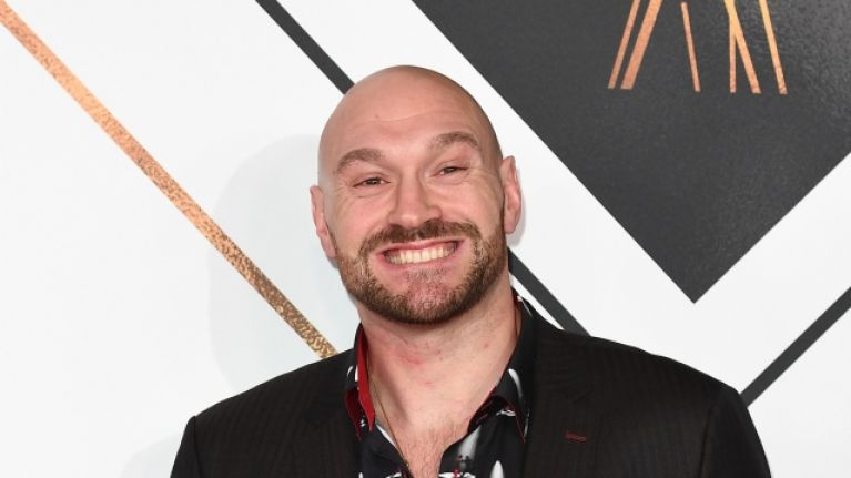 Tyson Fury managed to avoid putting on weight over Christmas as he returns to training