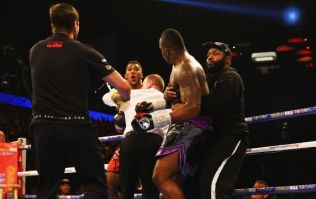 Dillian Whyte has heard a rumour about Anthony Joshua's next fight