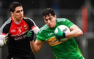 Leitrim player gets red card, sets up equalising score on his way off