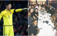 Wayne Hennessey denies making Nazi salute at team dinner