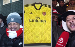 There was a mixed reaction to 'leaked images' of Arsenal's new adidas kits