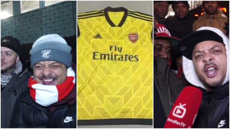 the best attitude 8d7a4 9cbc5 There was a mixed reaction to 'leaked images' of Arsenal's ...