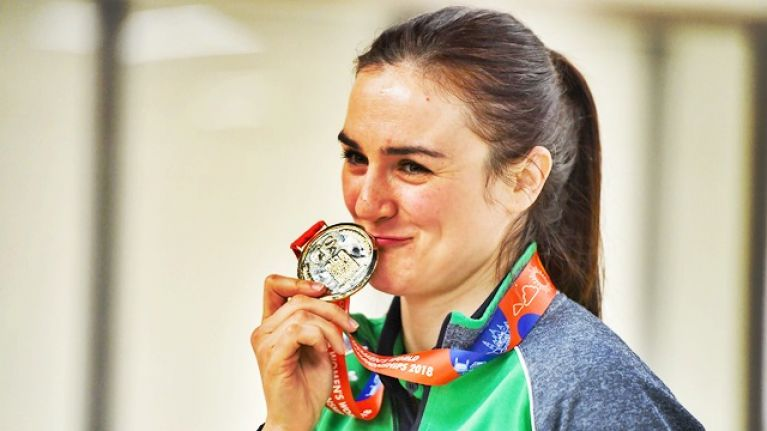 Kellie Harrington is well aware of the target on her back