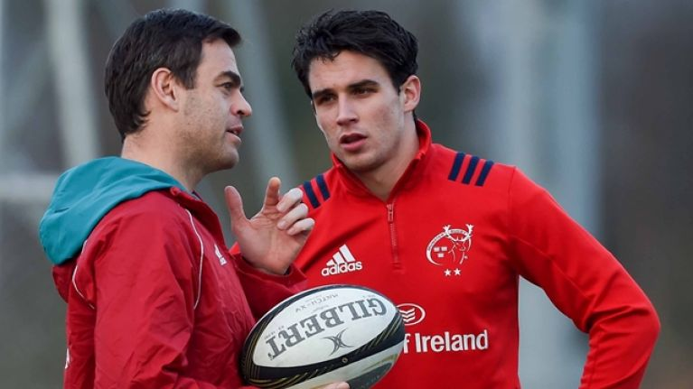 Joey Carbery's best game for Munster doesn't rule out exciting tactical change