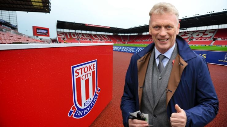 David Moyes favourite to take over at Stoke after Gary Rowett sacked as manager