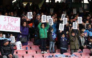 Napoli pledge to walk off field in instances of racial abuse
