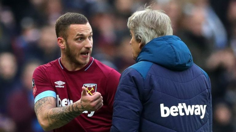 West Ham receive huge bid for Marko Arnautovic from Chinese club