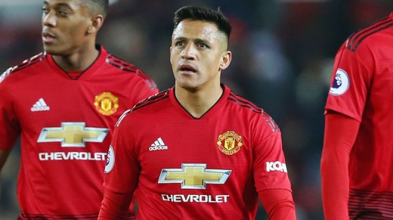Alexis Sanchez missing from Manchester United squad ahead of Spurs game