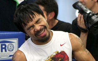 Manny Pacquiao takes shots at Floyd Mayweather after exhibition TKO