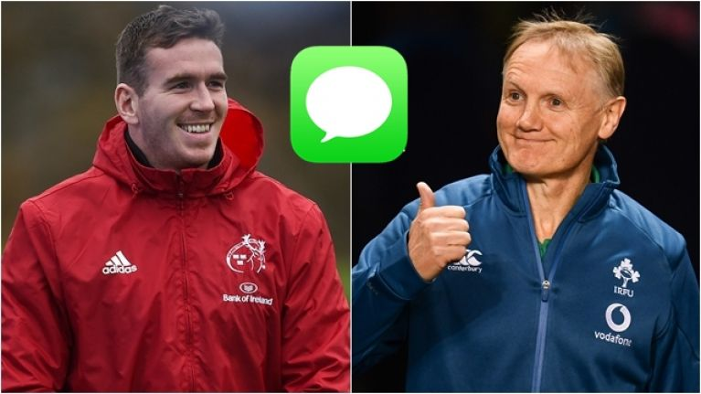 Texts between Joe Schmidt and Chris Farrell show serious commitment to making Ireland world-beaters
