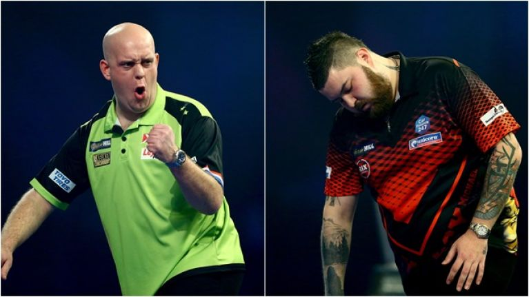 Michael van Gerwen proves just too good in World Championship final
