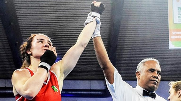 Kellie Harrington's fascinating insight on how boxers feel the moment their hand is raised