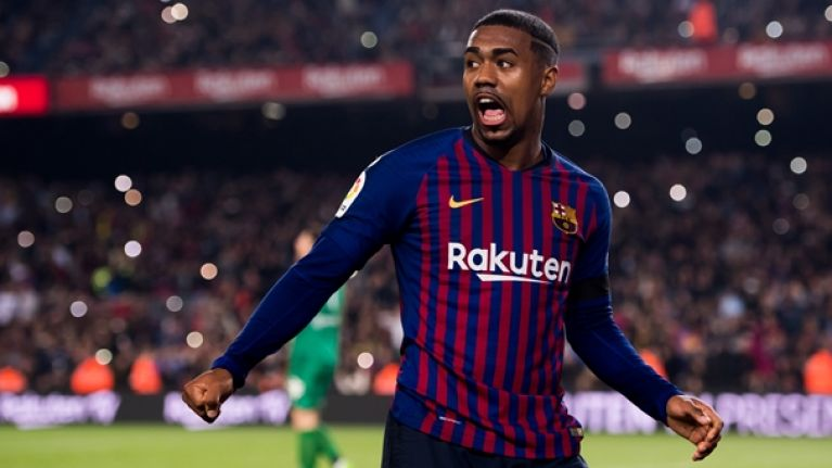 Everton show an interest in Barcelona forward Malcom