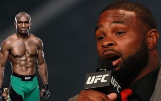 Somebody is lying about the next UFC welterweight title fight