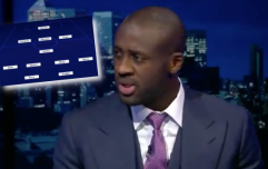 Yaya Toure has Aguero and Messi in midfield in greatest team mate XI ever