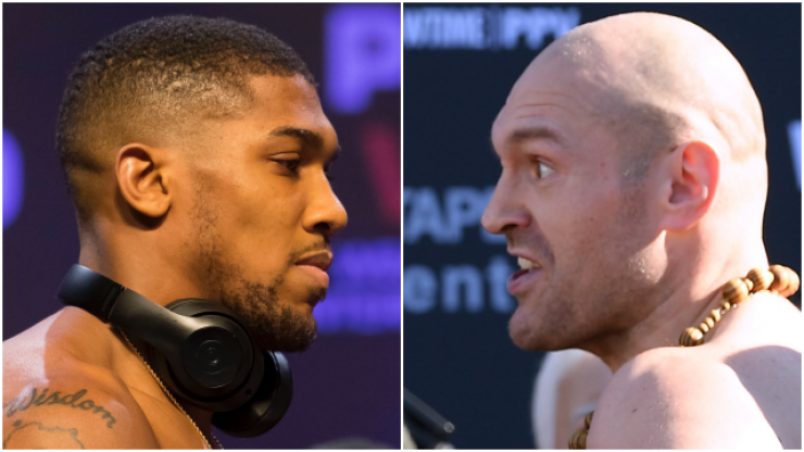 Tyson Fury offered Anthony Joshua fight on April 13 at Wembley