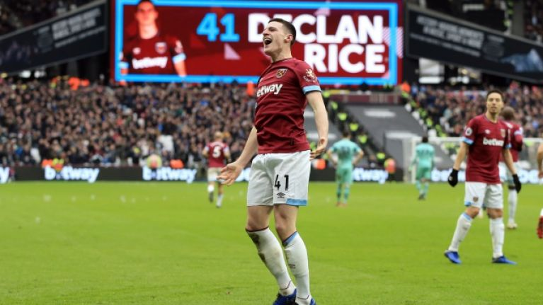 """Danny Murphy claims there is """"only one option"""" for Declan Rice and it's not Ireland"""