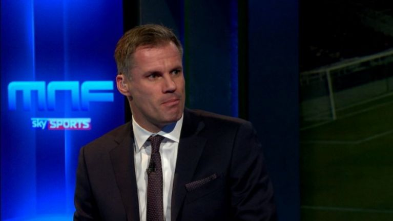 "Jamie Carragher rubbishes ""nonsense"" claims about Ole Gunnar Solskjaer at Man United"