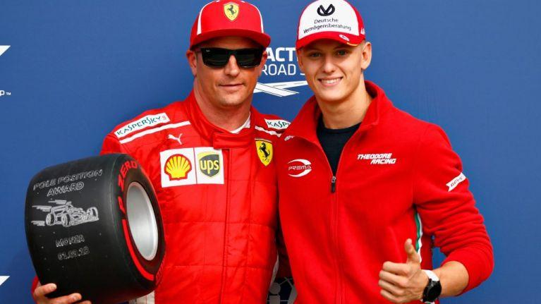 Mick Schumacher joins Ferrari
