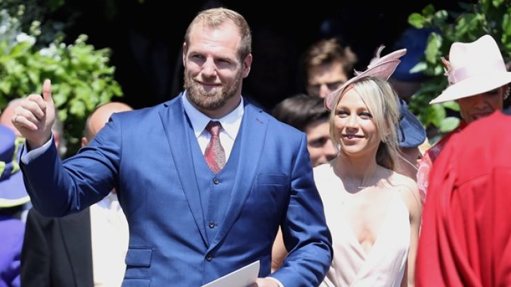 James Haskell's wife Chloe Madeley on his very particular pre-match routines
