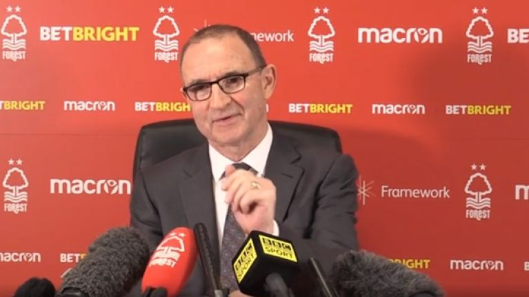 Martin O'Neill will leave a spot open for 'special' Roy Keane