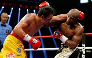 Eddie Hearn expects Mayweather vs Pacquiao rematch to be announced this weekend