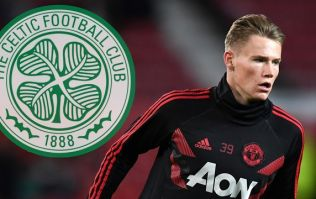 Scott McTominay could be about to join Celtic on loan from Man United