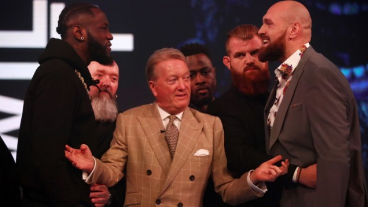 Frank Warren names judging condition for Wilder vs. Fury II