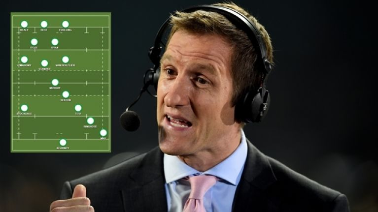 Will Greenwood's combined Ireland/England XV is pretty remarkable