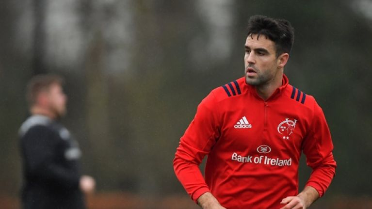 Conor Murray opens up on false failed drug test rumours
