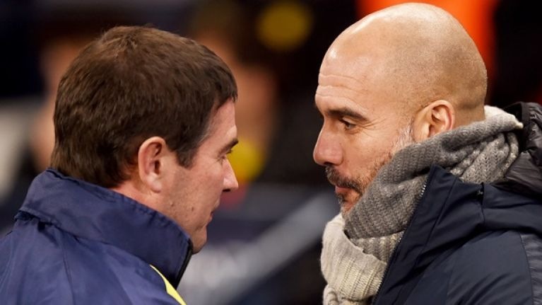 Nigel Clough had great response to Pep Guardiola's wine-invitation after City battering