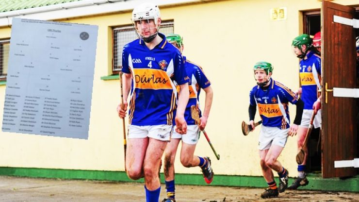 Thurles CBS had 40 subs on sideline for Harty Cup thriller and every one of them worth their place