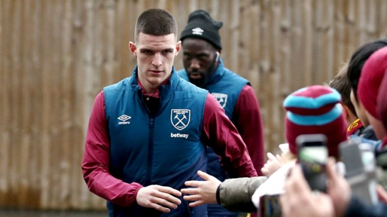 Declan Rice speaks about John Terry's influence on his career